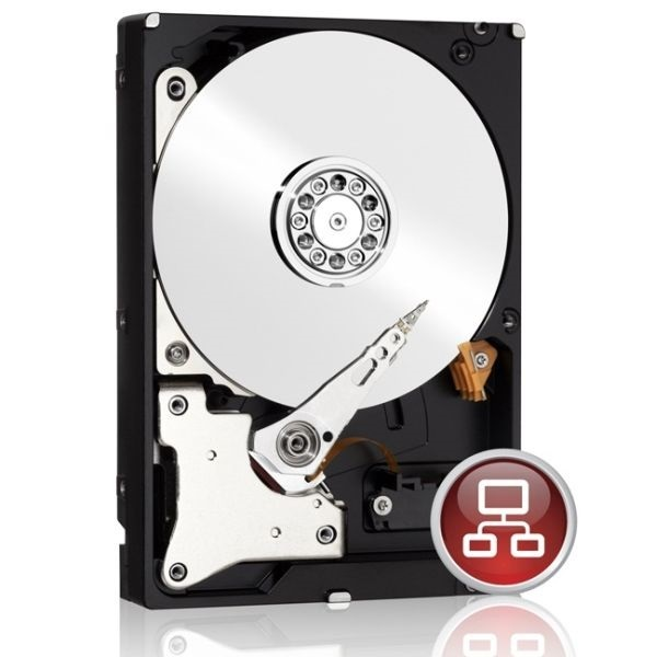 "WD20EFRX 2TB 3,5"" Desktop 5400rpm, 64 MB puffer, SATA3 - Red"